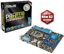 ASUS P8H61-M LX PLUS LGA 1155 Motherboard